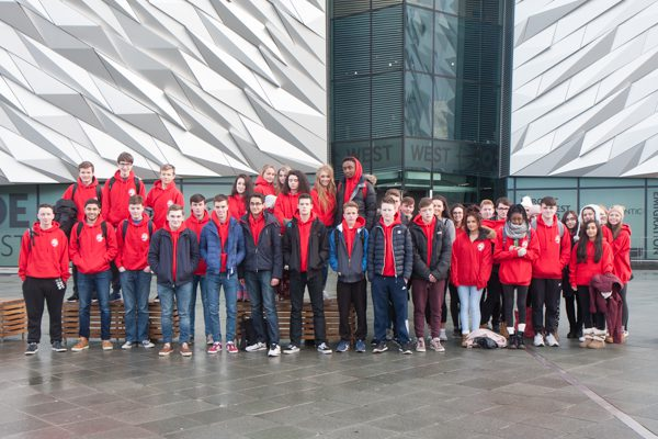 4th Year Trip to Belfast