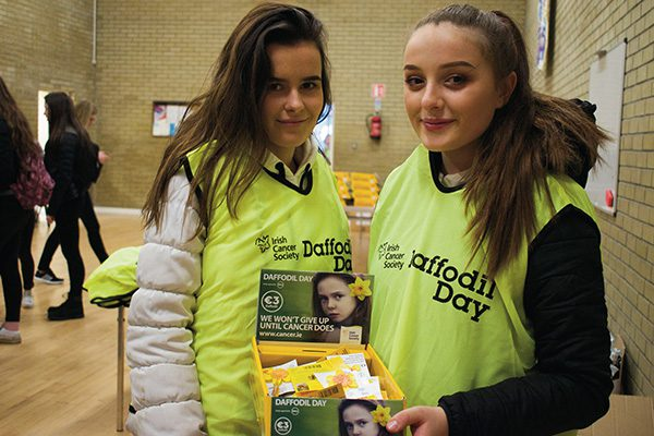 Fundraising for daffodil day