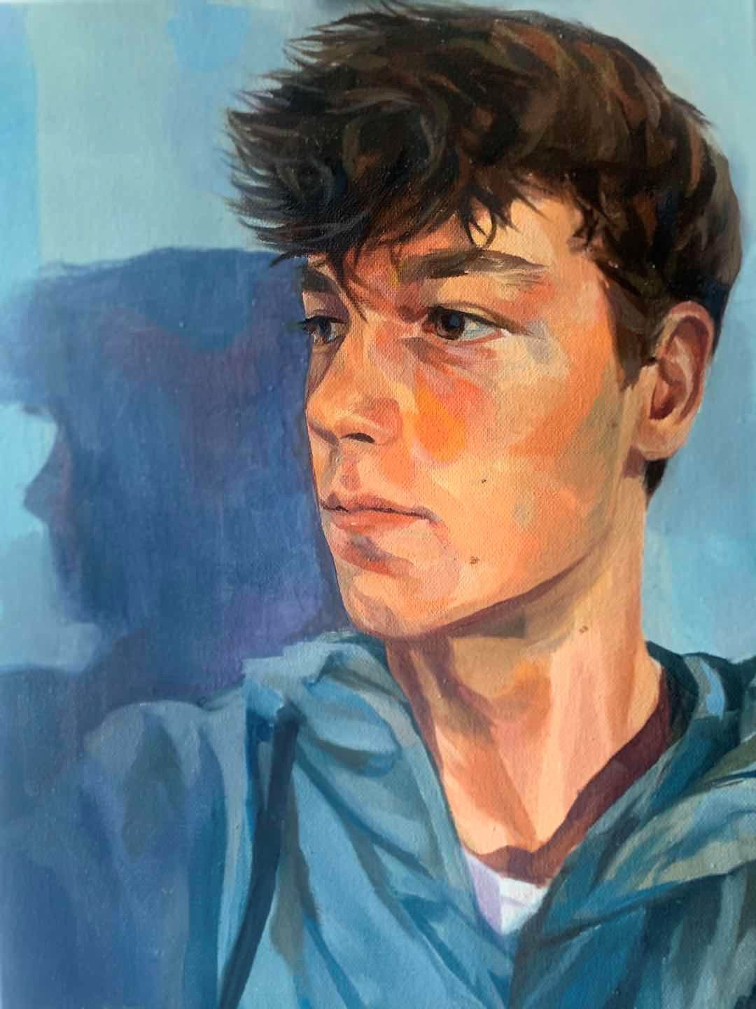 The Boy In Boy by Rachel Chen - Texaco Art Comp 2020